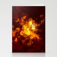 gold dots Stationery Cards featuring Dots by Eponine