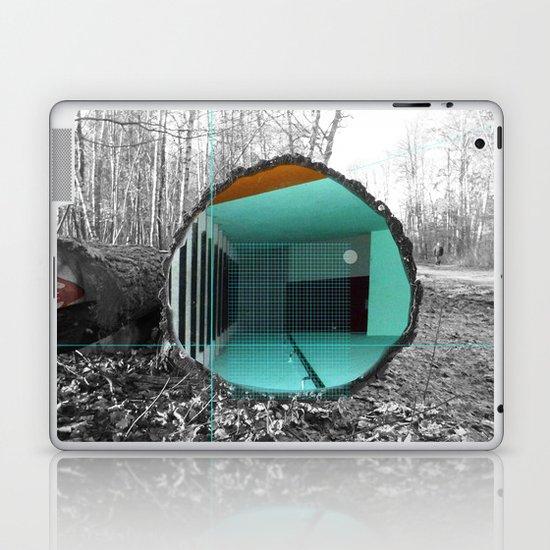 Woody´s Entrance 1b Laptop & iPad Skin
