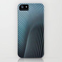 Oculus in turquoise iPhone Case