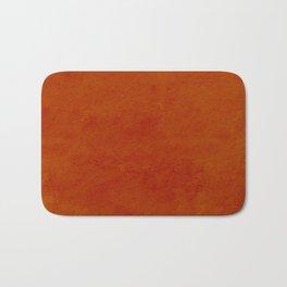 concrete orange brown copper plain texture Bath Mat
