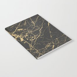 Marble Black Gold - Young Forever Notebook
