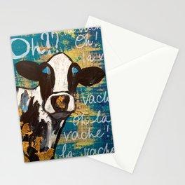 oh la vache! Stationery Cards