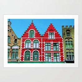 Bruges 1 Art Print