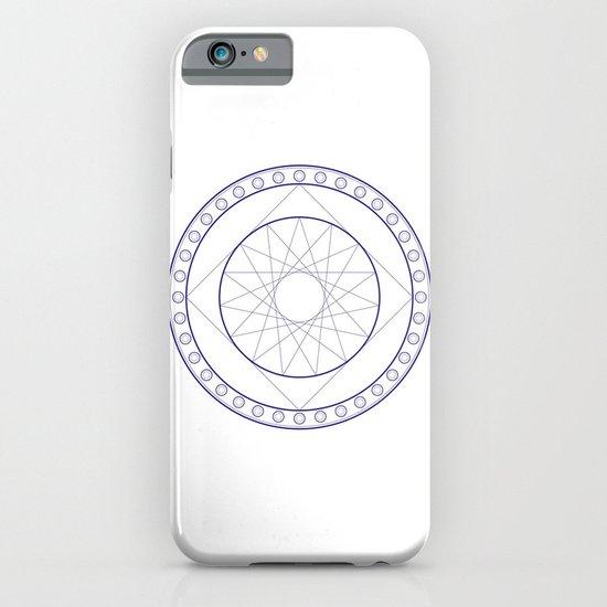 Anime Magic Circle 16 iPhone & iPod Case