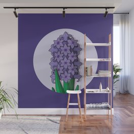 Hyacinth Wall Mural