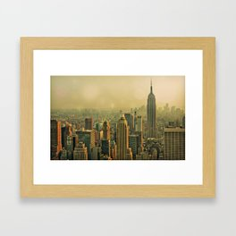 View from Top of the Rock - NYC Framed Art Print