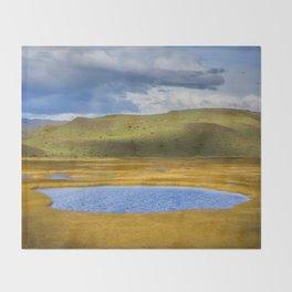Patagonian Lakes Throw Blanket