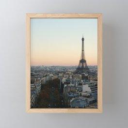 View from L'Arc de Triomphe Framed Mini Art Print