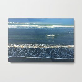 Sea Waves photography Metal Print