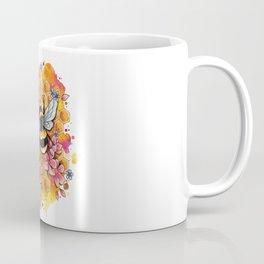 Neo Traditional Bee Coffee Mug