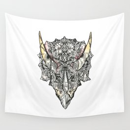 Triceratops Wall Tapestry