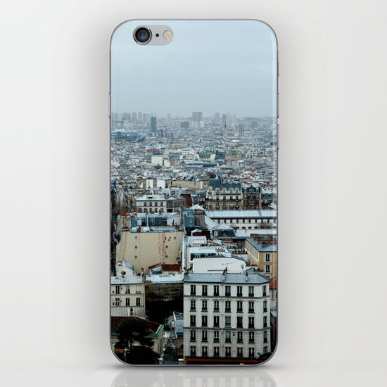 Over Paris iPhone & iPod Skin
