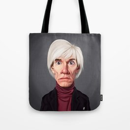 Celebrity Sunday ~ Andy Warhola Tote Bag