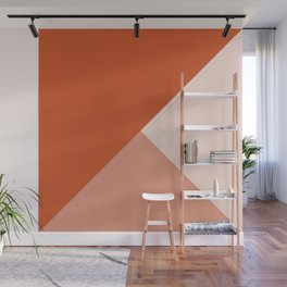 Orange Tones Wall Mural
