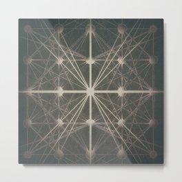 Connected Metal Print