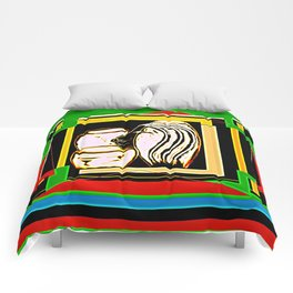 Hidden Chambers Comforters