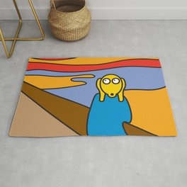 ooh Zoo – art-series, Munch Rug