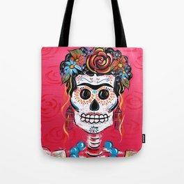 FRIDA Sugar Skull 2014 Tote Bag