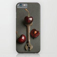 Cherries and Vintage Spanner Slim Case iPhone 6s