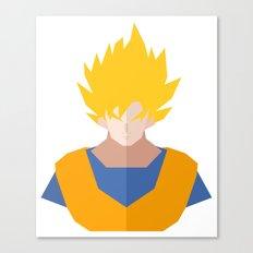 Goku SSJ Canvas Print