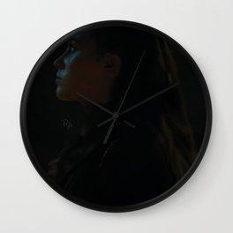 Commander Lexa Wall Clock