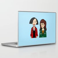 daria Laptop & iPad Skins featuring Daria & Jane by Marianna