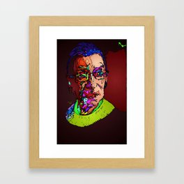 Notorious RBG Framed Art Print
