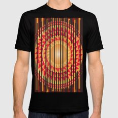 Hidden Sun Mens Fitted Tee Black MEDIUM