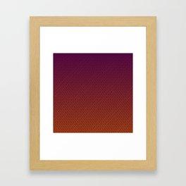 orange flicks Framed Art Print