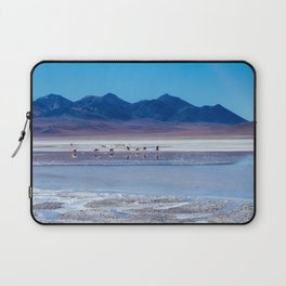 Flamingoes in the Atacama Desert, Bolivia Laptop Sleeve