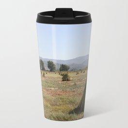 Sesame Crop and Harvest Travel Mug