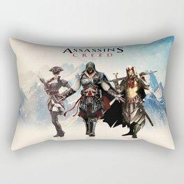 Assassins Creed Attack Rectangular Pillow