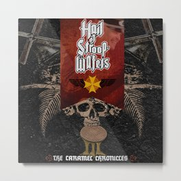 Hail Of Stroopwafels Metal Print