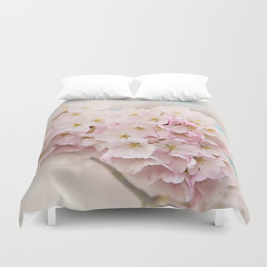 pastel beauty- In memory of Makenzie Duvet Cover