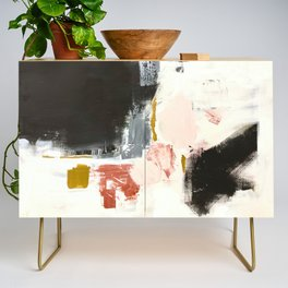 Jeanne's Song Abstract Credenza