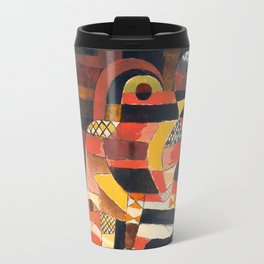 Lovers by Paul Klee, 1920 - Abstract Art Travel Mug