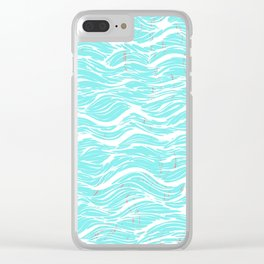 Dream of the sea Clear iPhone Case