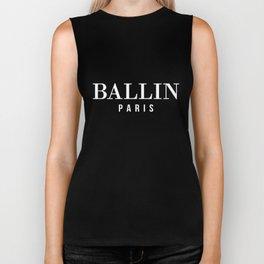 BALLIN PARIS LADIES TOP DOPE SWAG HYPE FASHION TUMBLR HIPSTER dope Biker Tank