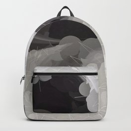 Modern Pattern Black White Design Backpack