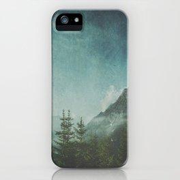 Misty Wilderness - Italian Alps iPhone Case