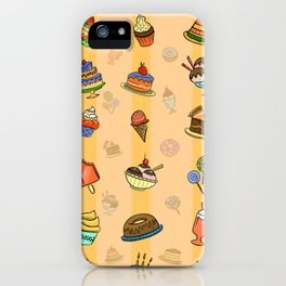 Whimsy desserts iPhone Case