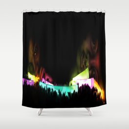 Turn Down for the Night Shower Curtain