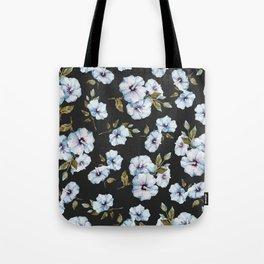 BLUE FLOWERS WATERCOLOR Tote Bag