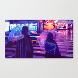 Tokyo Nights / The Crossing / Liam Wong Canvas Print