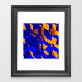 Modern Life Framed Art Print