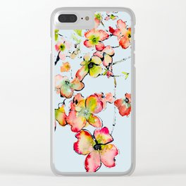 shiney petals Clear iPhone Case