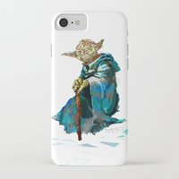 yoda iPhone & iPod Cases featuring Yoda by pabpaint