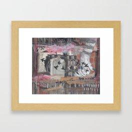 FLOWN Framed Art Print
