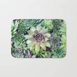 Succulent Garden II Bath Mat