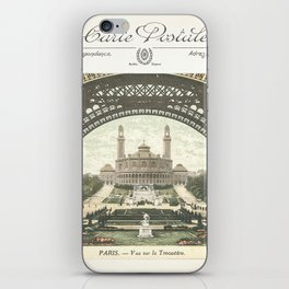 Paris Postcard #2 by Murray Bolesta iPhone Skin